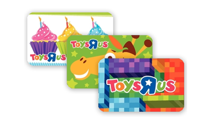 Toys R Us Gift Cards from CashStar